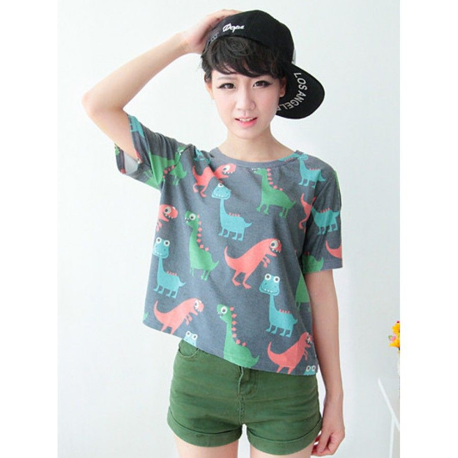 Cute Dinosaur T-Shirt