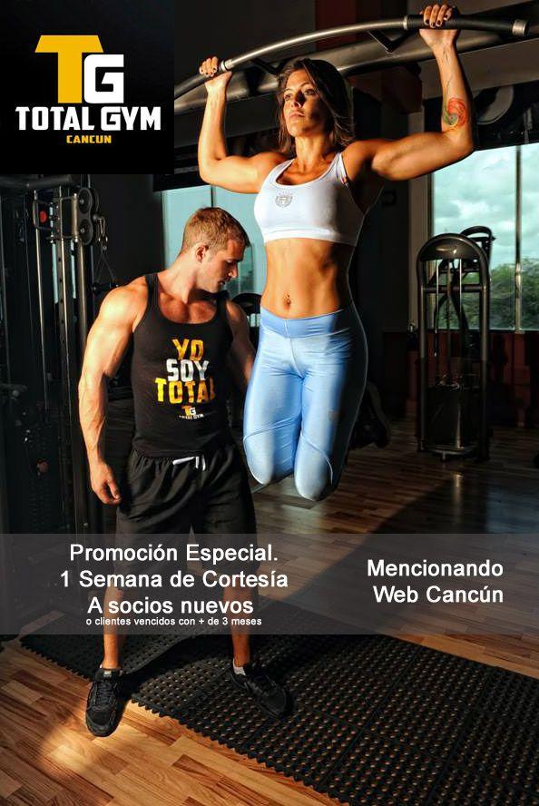Promocion de gimnasio en cancun gimnasios en canc n for Gimnasio total