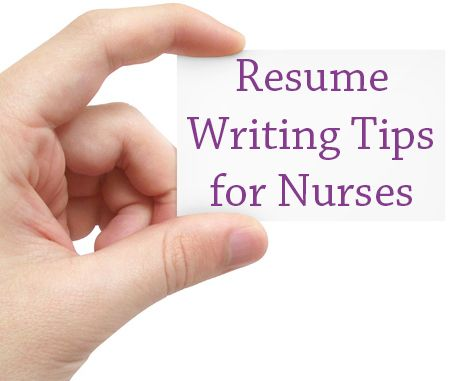 Resume Writing Tips For Nurses  Getting A Job