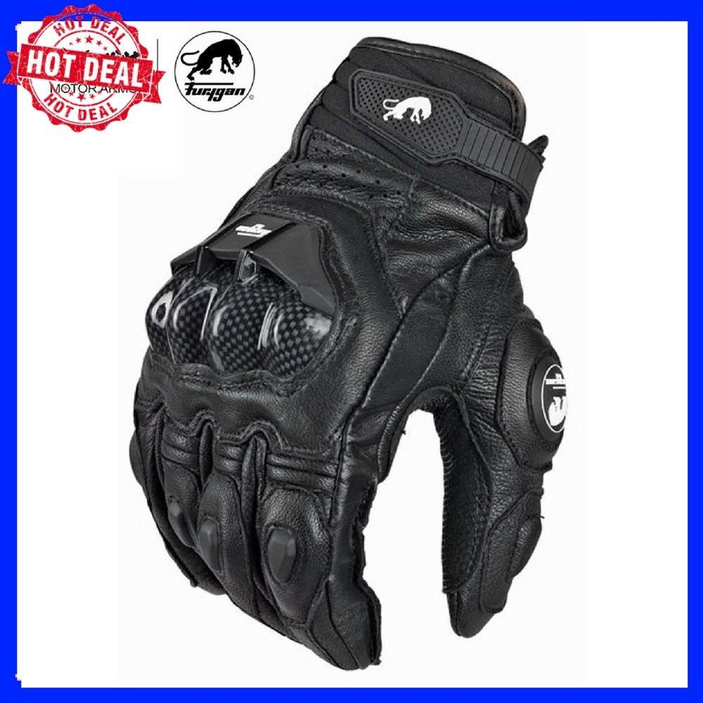 L, BLUE ILM Alloy Steel Bicycle Motorcycle Motorbike Powersports Racing Gloves Touchscreen