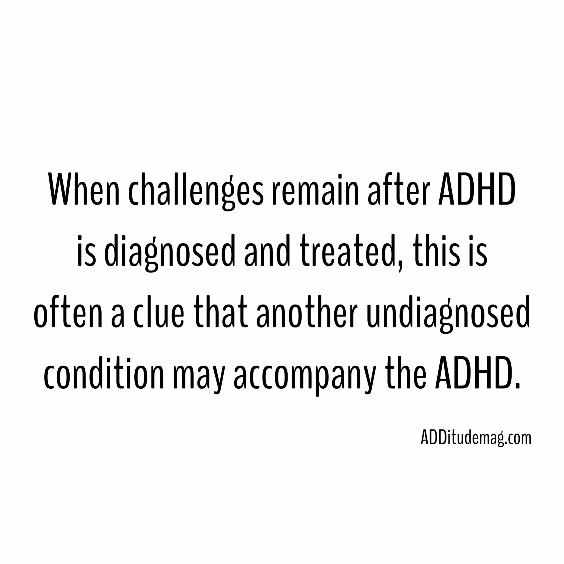 Adhd And Sad Treatment And Symptoms >> When It S Not Just Adhd Uncovering Comorbid Conditions Related