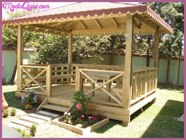 Bahçeler İçin Çardak Modelleri Ve Yapımı - http://modaquaz.com ...