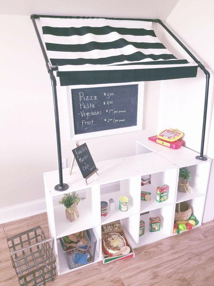 Photo of Kinder DIY Cafe und Shop, Schwarz-Weiß-Spielzimmer – #Cafe #DIY #Business #kids #Black …