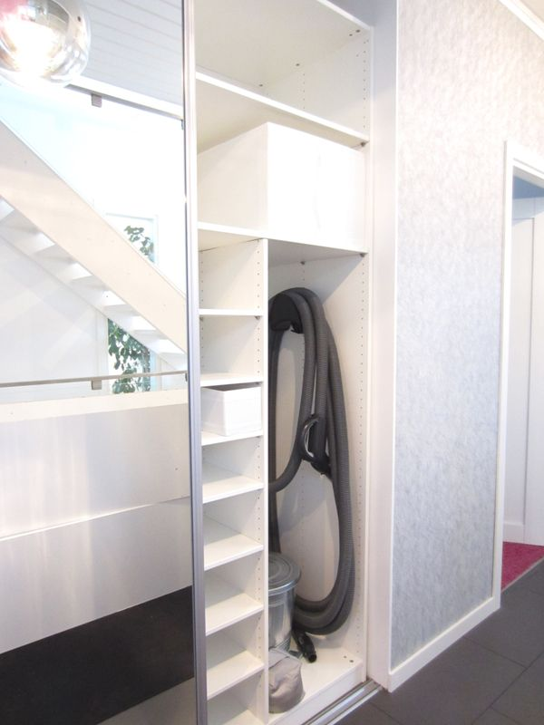 Use Pax Components And Door To Make A Storage Area For