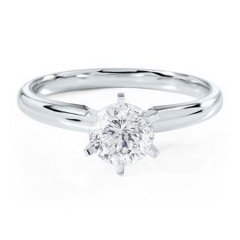 Radiant Star 1ct Diamond Solitaire Engagement Ring in 14K Gold - this is my dream ring