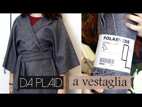 Idee Cucito Per Principianti : Vestaglia kimono con plaid ikea cucito per principianti