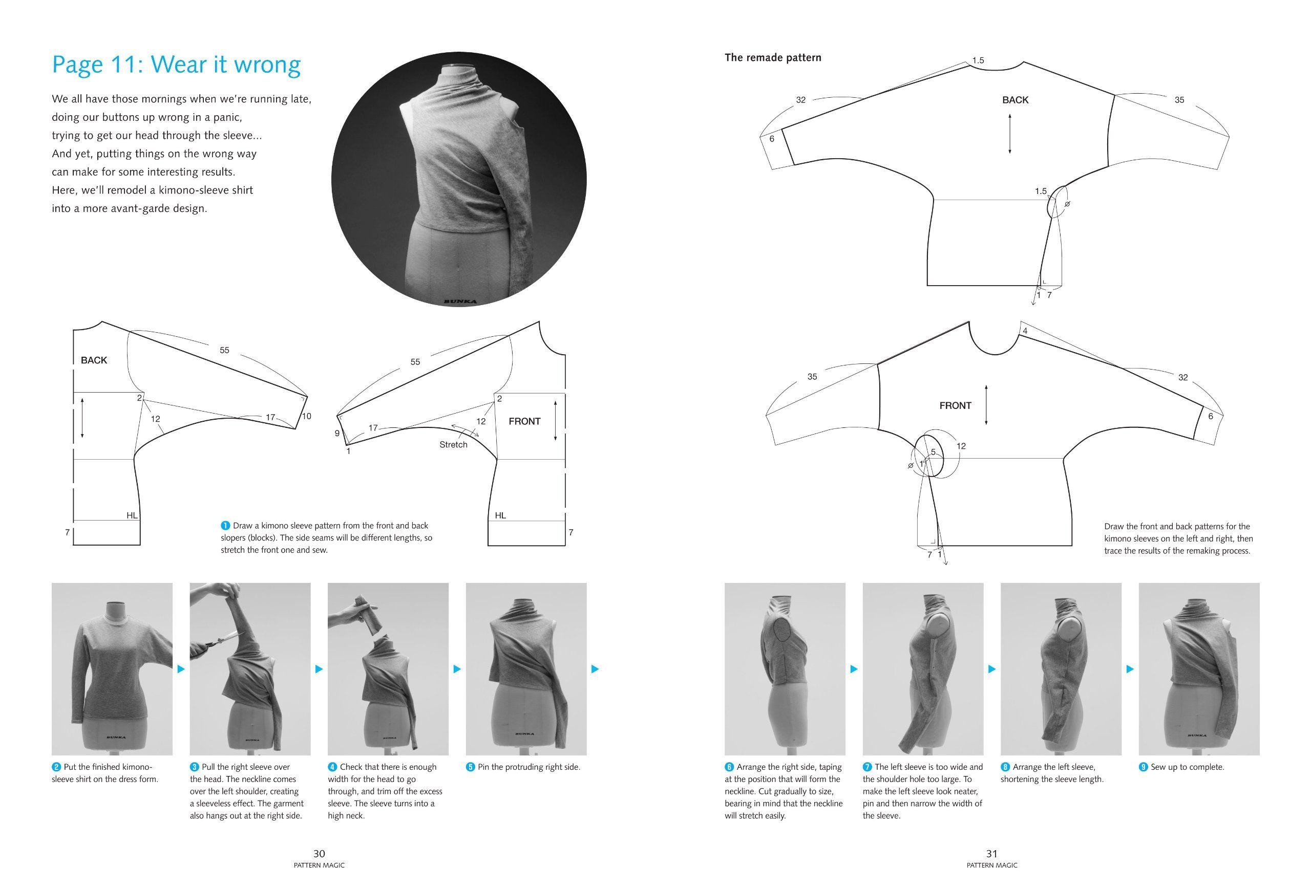Pattern Magic Stretch Fabrics Tomoko Nakamichi 9781856698276 Amazon Com Books Stretch Fabric Textiles Fashion Fabric Manipulation