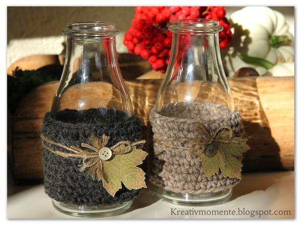 diy herbstdeko wald im glas herbstdekoration selber machen. Black Bedroom Furniture Sets. Home Design Ideas