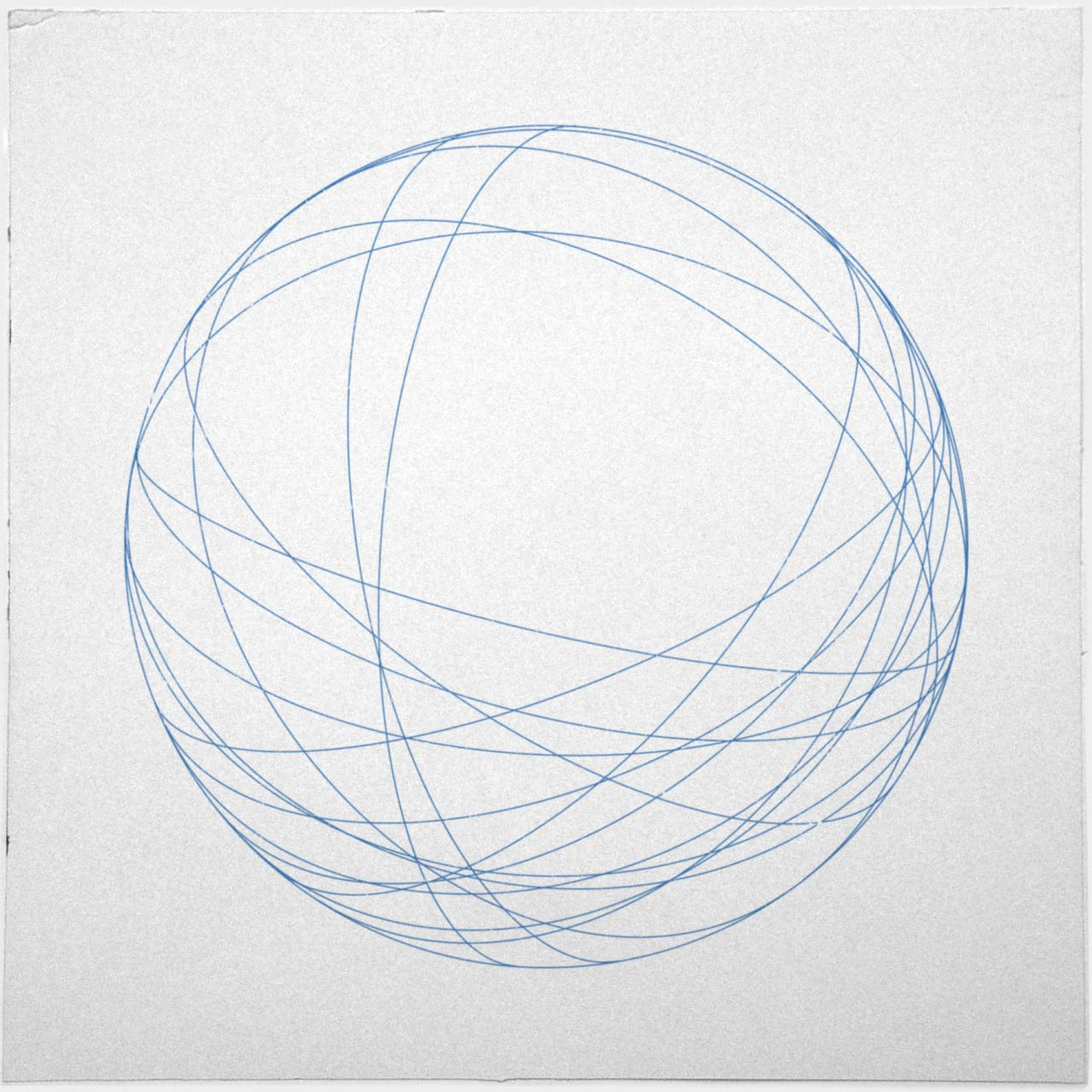491 Orbits A New Minimal Geometric Composition Each Day