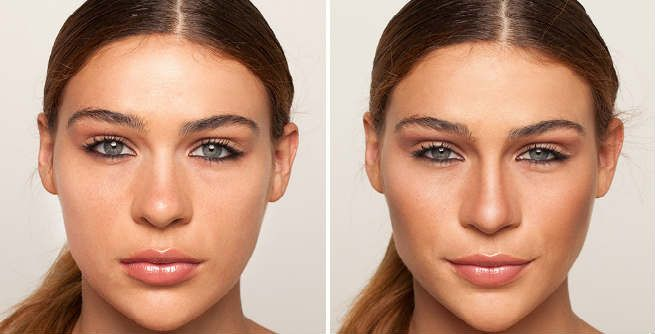 How To Give Your Nose A Slimmer Look With Makeup Nose Contouring Contour Makeup Contouring And Highlighting