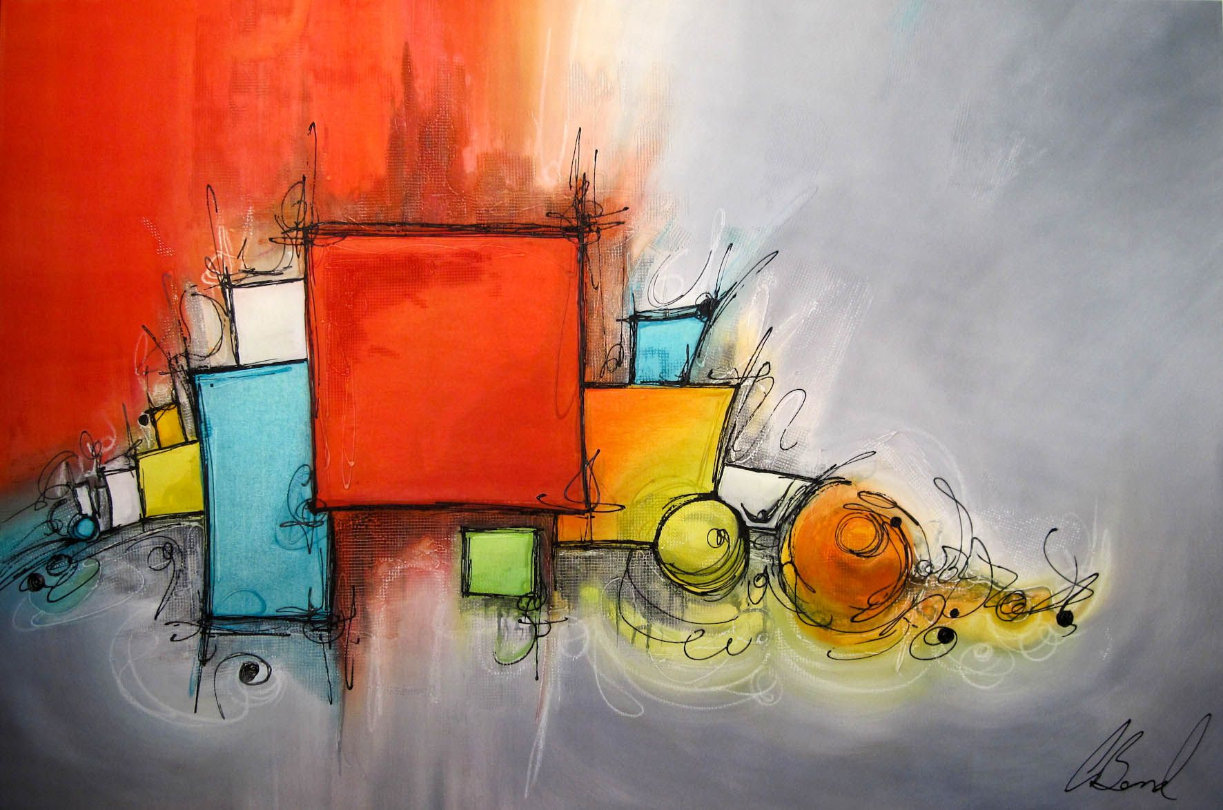 Modern Abstract Art | China Modern Abstract Art Painting ...