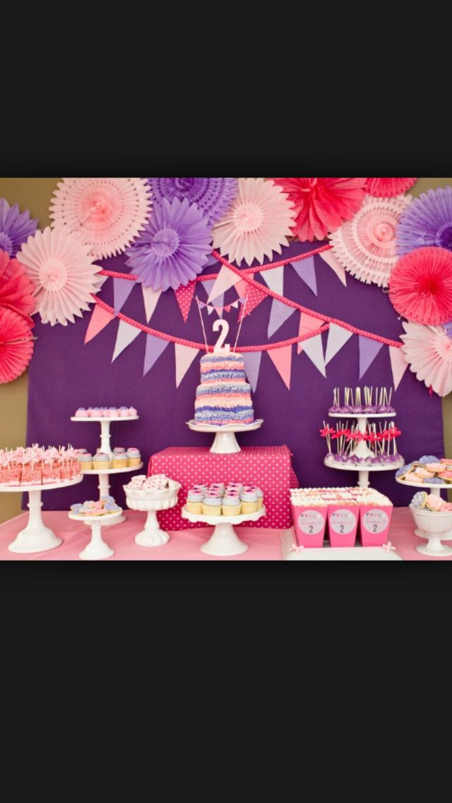 2 Year Old Girls Birthday Party
