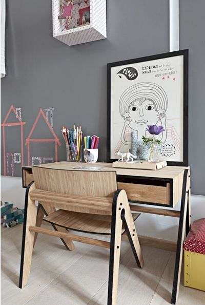 The Boo And The Boy Kids Desks Room Design