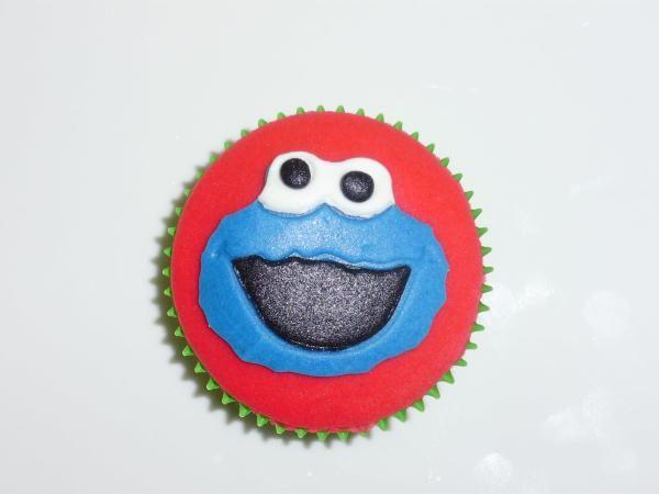 cupcake Koekiemonster