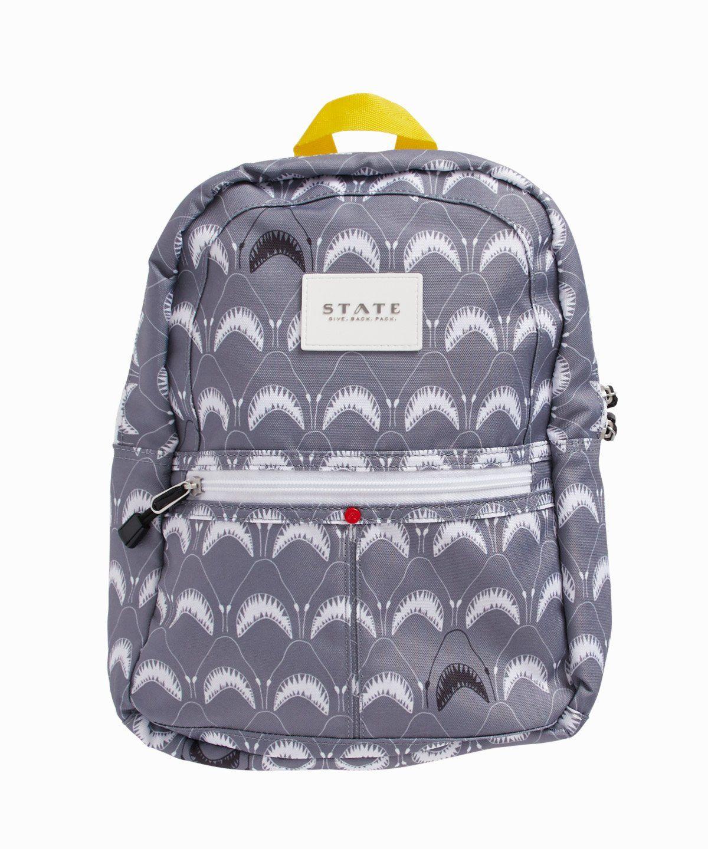 b5687135f4ce Mini Kane Coney Island Shark Print Backpack