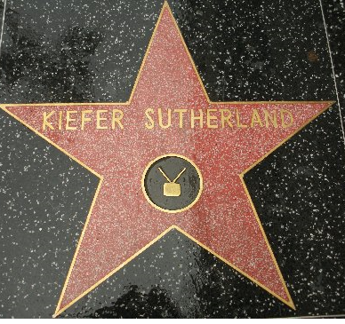 Kiefer Sutherland Star On Hollywood Walk Of Fame Hollywood Walk Of Fame Walk Of Fame Hollywood Walk Of Fame Star