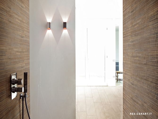 Taupe Tegels Badkamer : Houten tegel badkamer badkamer tiles house en wood
