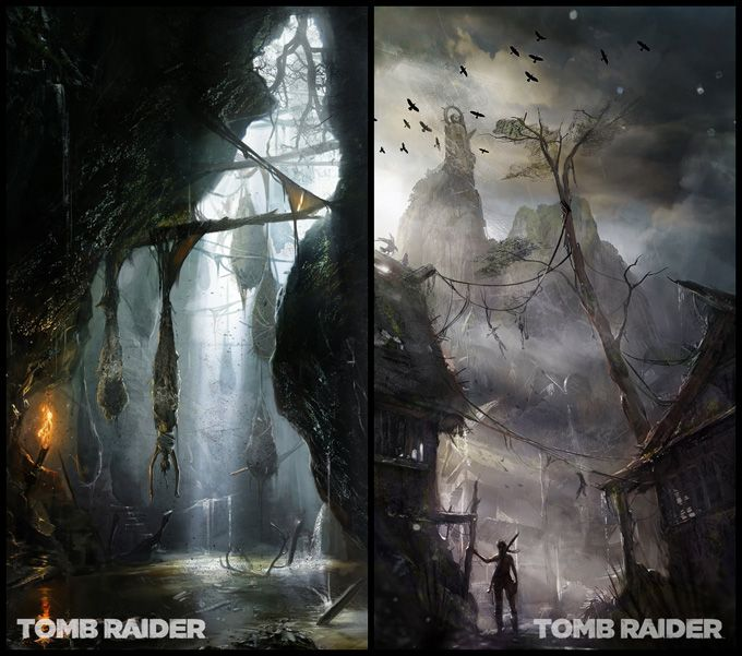Tomb Raider Concept Art And Art Book Concept Art Game Concept