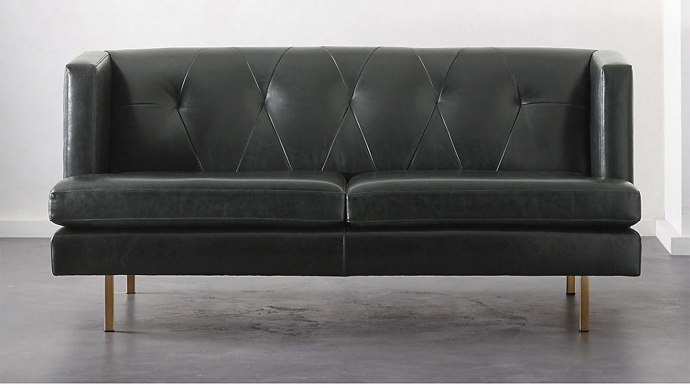Super Avec Leather Apartment Sofa With Brass Legs Reviews Beatyapartments Chair Design Images Beatyapartmentscom