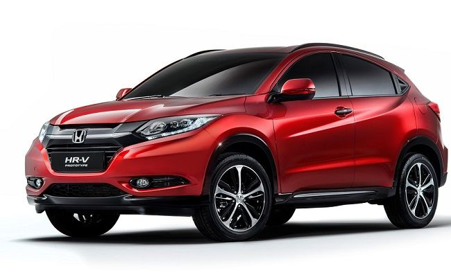 Honda Hr V Compact Suv S First Images Revealed Small Suv Honda