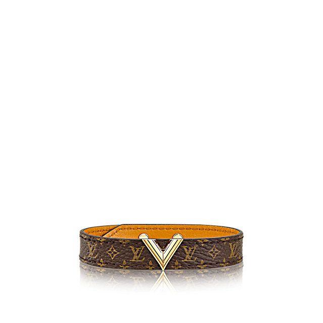 Discover Louis Vuitton Essential V Bracelet Featuring The