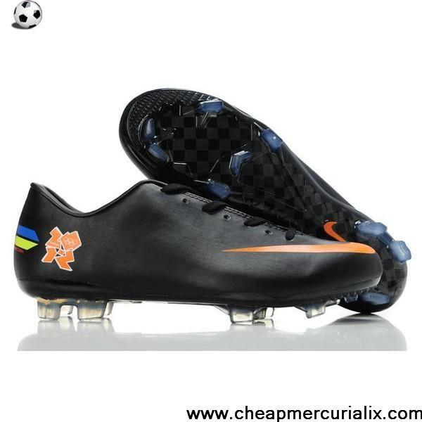 Fashion London Olympic Nike Mercurial Vapor VIII FG Black ...