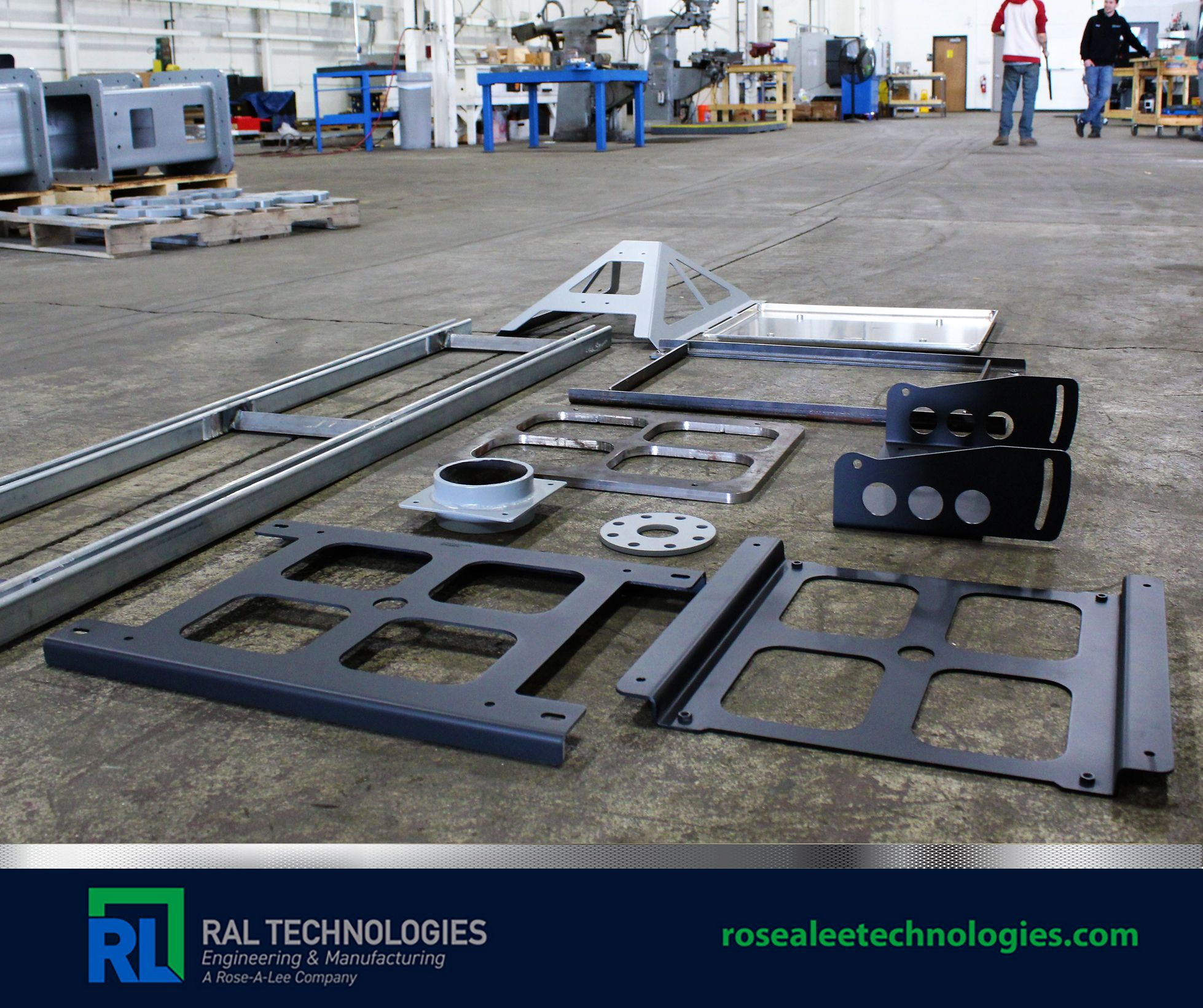Manufacture fabrication welded metal structures