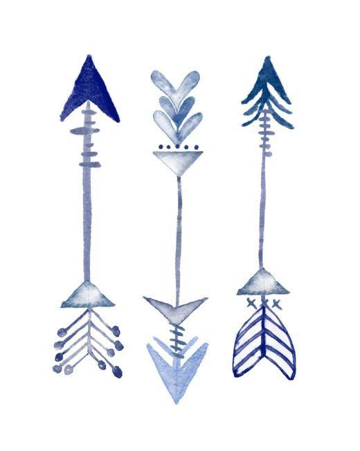 Pretty Pics Thursday 5 : Blue Printables | Arrow ...