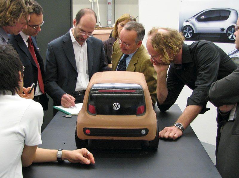 Vw Up Concept Clay Model Vw Up Car Design Sketch Volkswagen Up