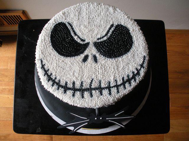 JACK SKELLINGTON CAKE 1 Jack skellington Cake and Birthdays