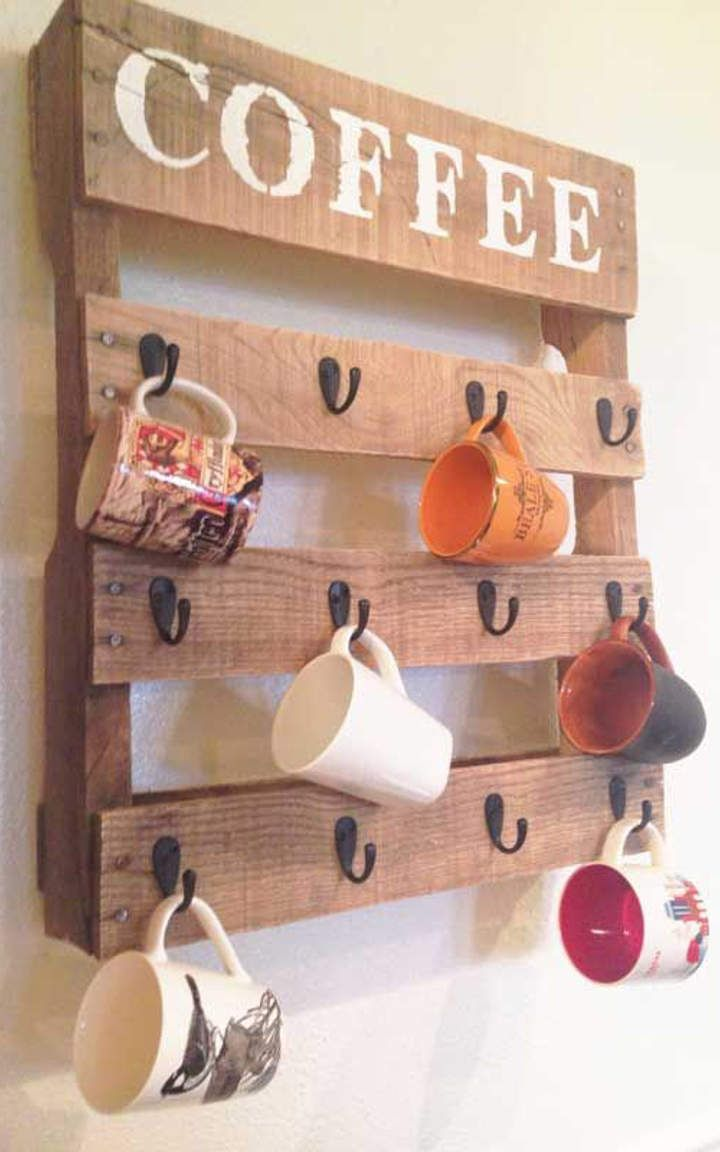 mugs storage #11 | DIY Einrichtung | Pinterest | kreative Dekoration ...