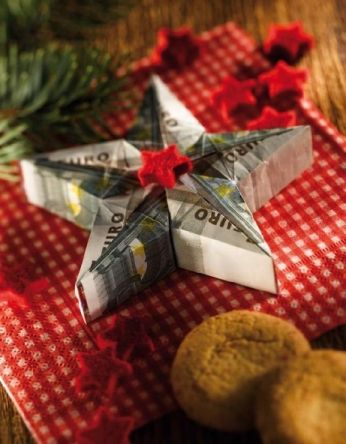 Geldschein Stern Geldgeschenke Pinterest Geld Geschenke Und