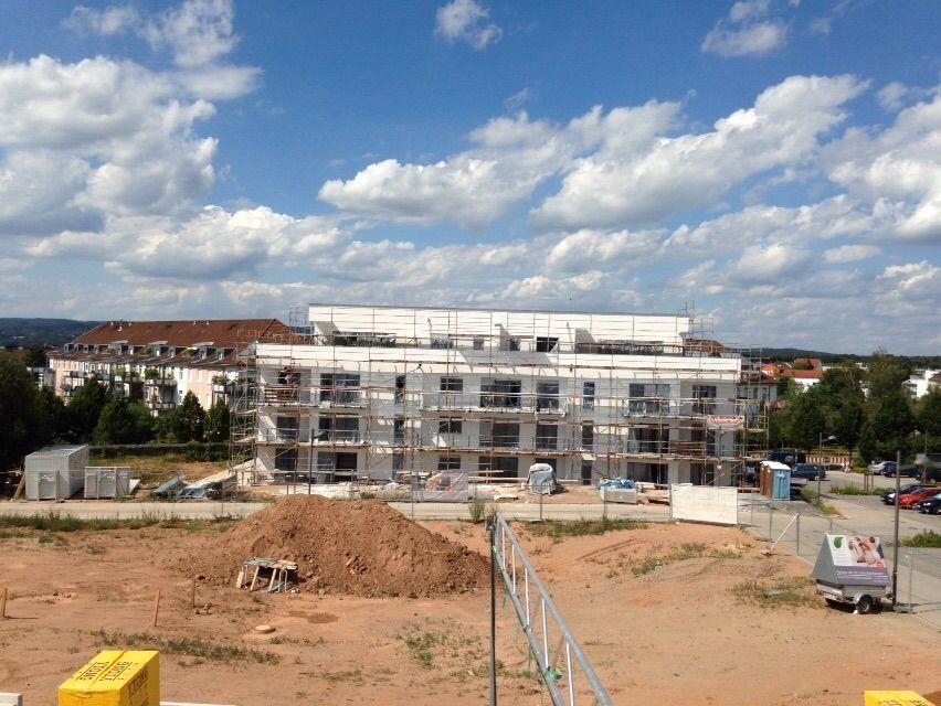 Bautenstand 21.07.2015 Aschaffenburg, Baubeginn, Bau