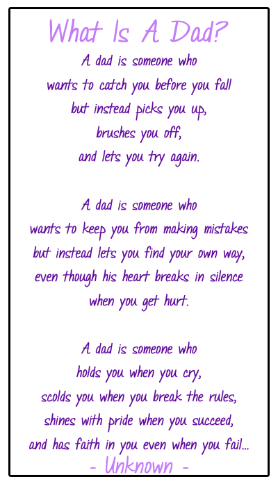 Poems For Fathers Day From Daughter 5