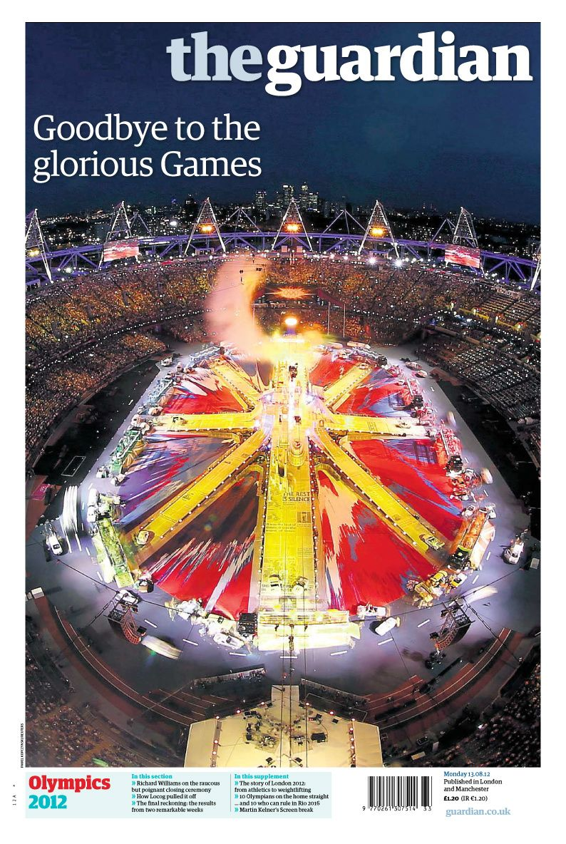 Roger Browning on Twitter London 2012 game, Newspaper