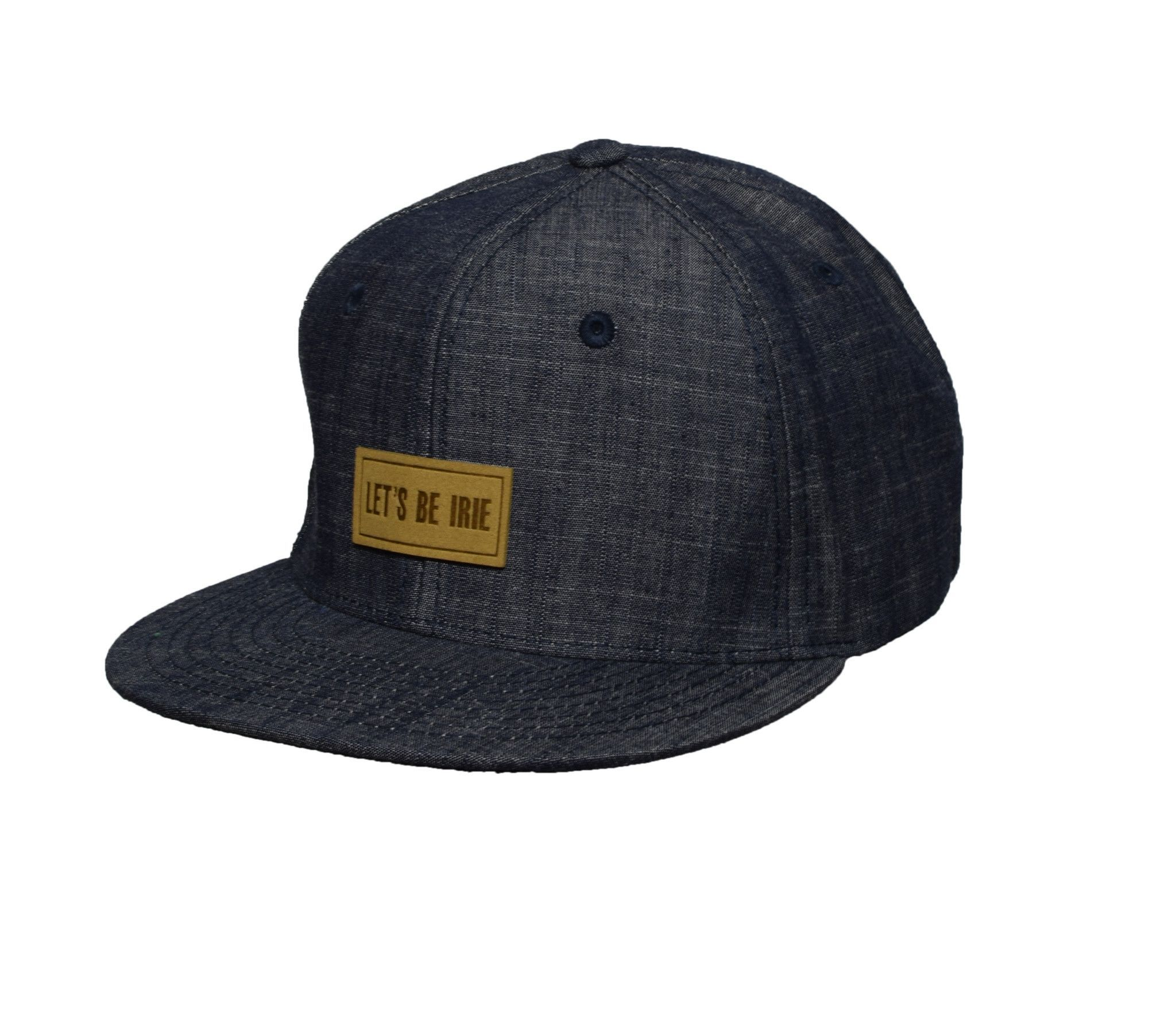 Second Generation Let's Be Irie Snapback - Washed Blue Denim