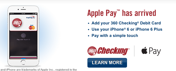 Capital one 11 apple pay - Google Search  Apple pay, Capital one