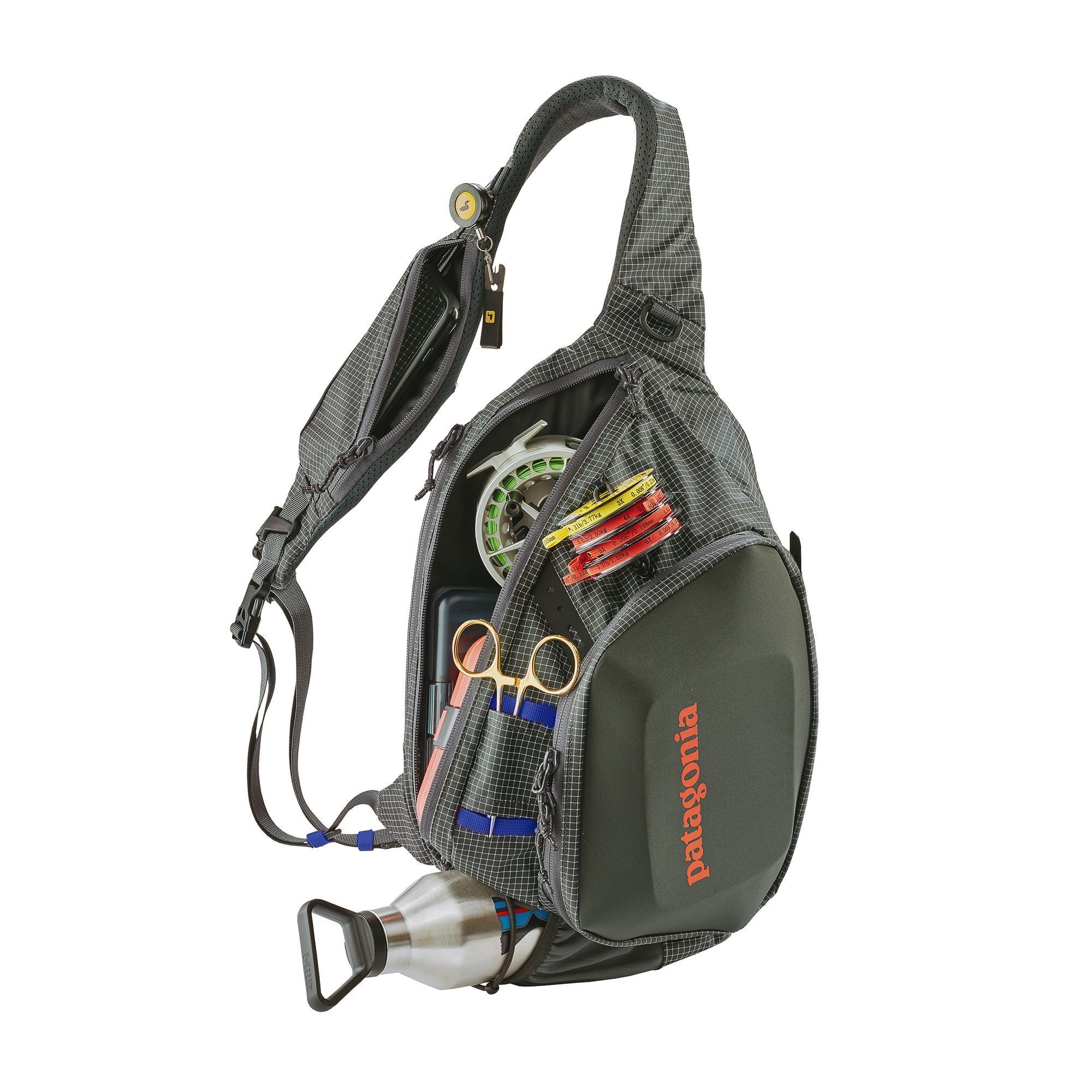 Patagonia Stealth Atom Sling Forge Grey In 2021 Fishing Boots Sling Pack Fly Fishing Gear