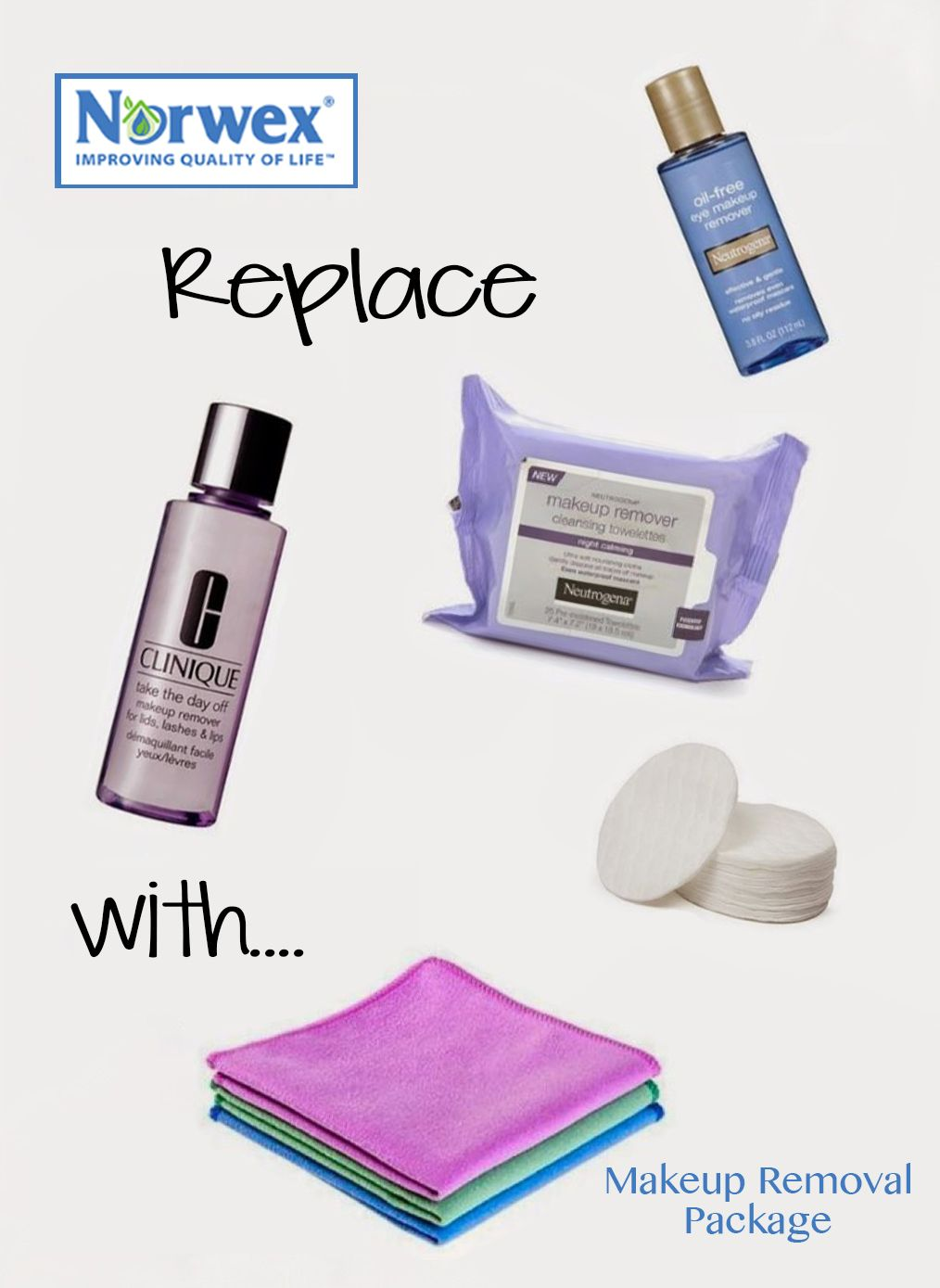 Makeup Removal Important Skin Care Routine: How Do You Remove Your Makeup?? I Use Water And My Norwex