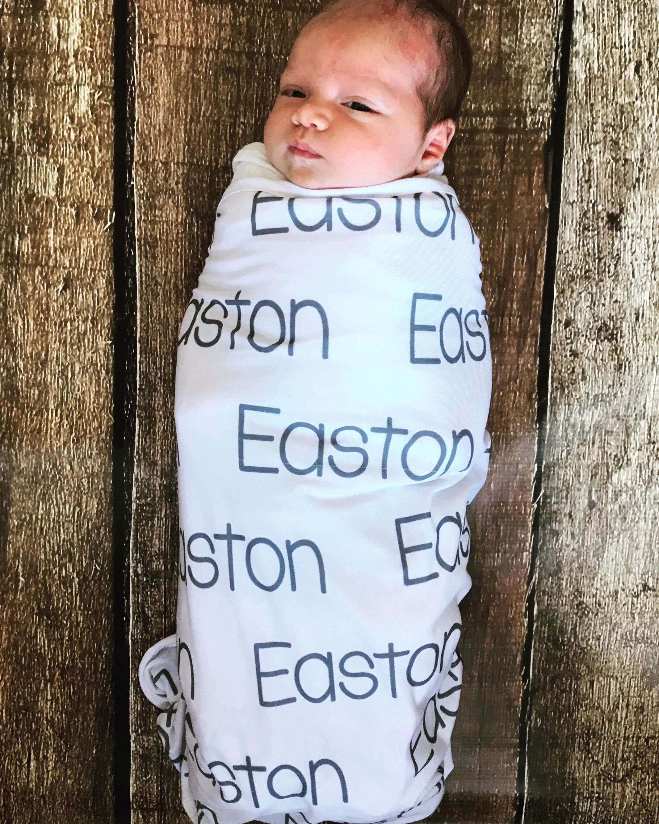 2a699ea81 Personalized swaddle blanket
