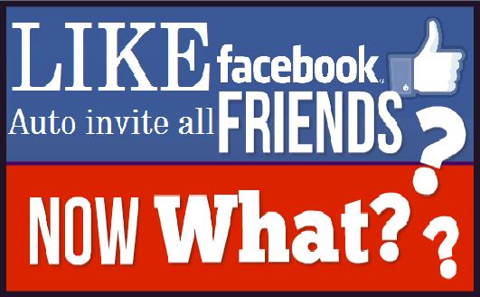 Facebook Fanpage Like Auto Invite All Friends Download New Code