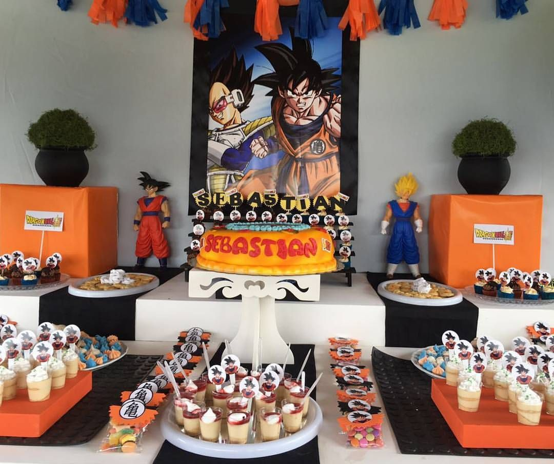 Fiestas infantiles de goku dragon ball and birthday boys for Ideas para fiestas infantiles