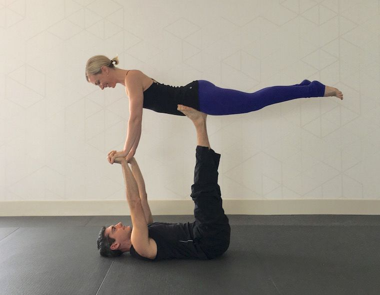 10 partner yoga poses for a strong (and flexible ...