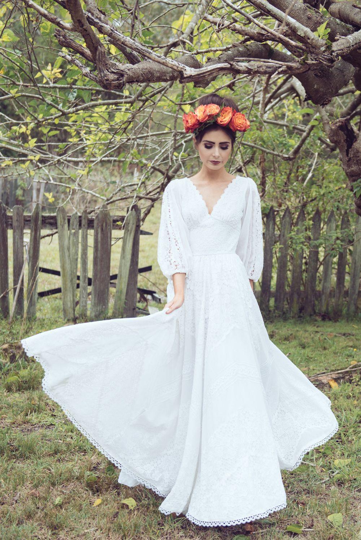 Mexican style wedding dress  love child  I do  Pinterest  Child Wedding vintage and Wedding