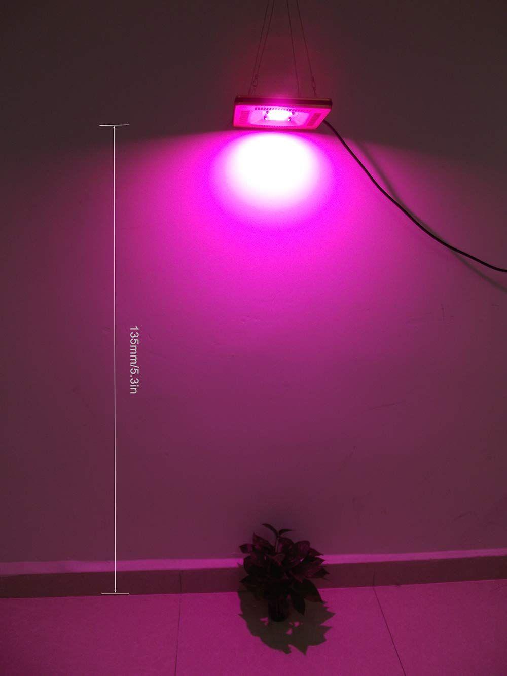 Ultrathin No Noise Led Grow Light Set Nano Waterproof Ip67 Full Spectrum Cob 50w Grow Light Mount 300w Halogen Bulb In 2020 Led Grow Lights Hps Grow Lights Grow Lights