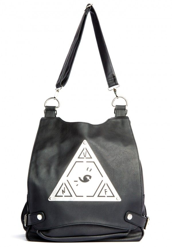 Pyramid Pack #leather #black #unif