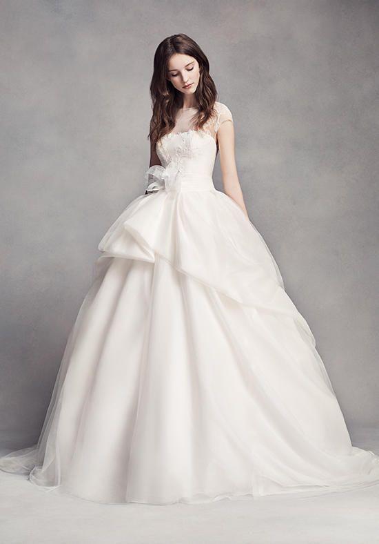 Great White by Vera Wang White by Vera Wang Style VW Wedding Dress The Knot