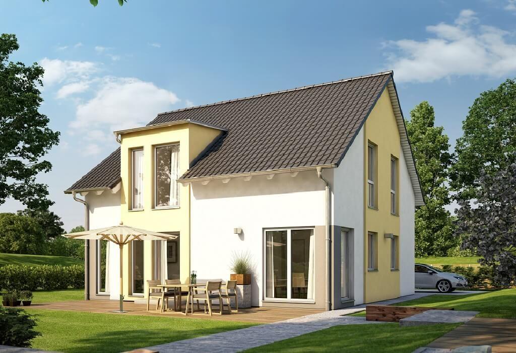 Modernes Einfamilienhaus Satteldach modernes einfamilienhaus mit satteldach haus ideen grundrisse