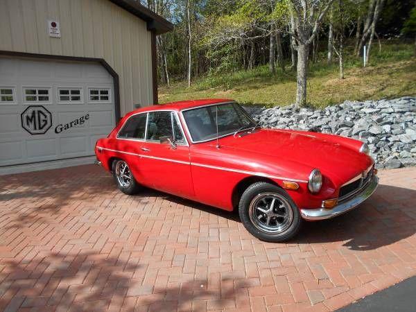 1973 MGBGT - $3,000 Asheville, NC #ForSale #Craigslist #MG