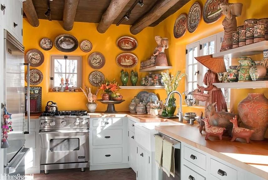Photos Of Mexican Style Kitchens Mexican Style Kitchens Tuscan Kitchen Design Orange Kitchen Decor